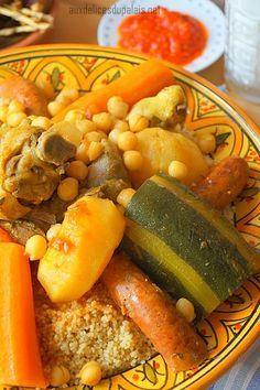 couscous royal facile sans couscoussier