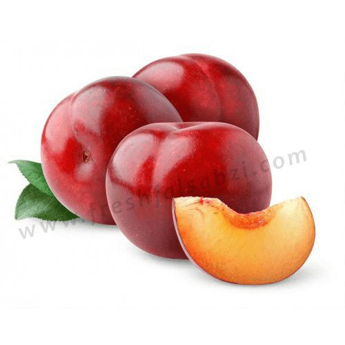Plum - Aalu bukhara -  Plums are used as dessert fruits and also cooked and eaten.
