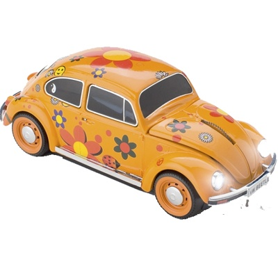 Mouse VW Beetle Flower-Power  129 RON