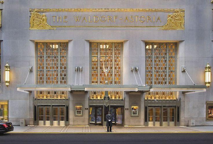 El hotel Waldorf Astoria de Nueva York cierra sus puertas