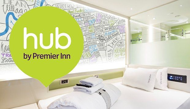 Book a stylish, compact room in our hub by Premier Inn hotel in Edinburgh City Centre, the perfect location to explore Edinburgh's historic cobbled streets