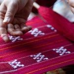 Making of traditional Shan bag in Myanmar  www.visitmm.com