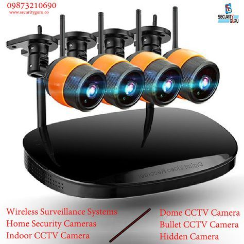 Security Camera Systems and CCTV Security Cameras at sensitive price