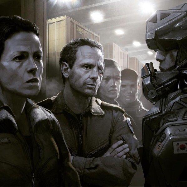 Neil Blomkamp Releases More 'Alien' Concept Art