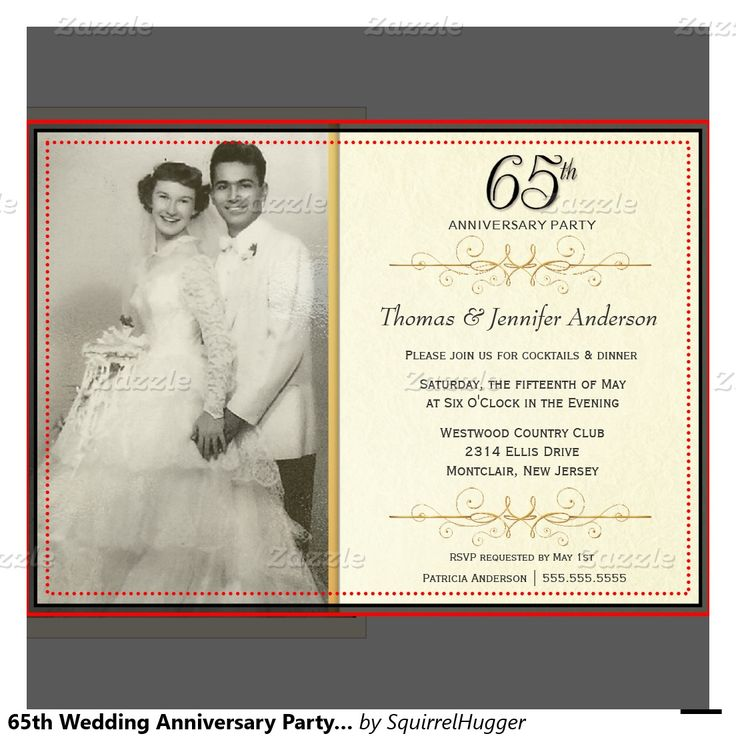 65th Wedding Anniversary Gift For Parents : ... 50th wedding anniversary invitations and 50th wedding anniversary gift