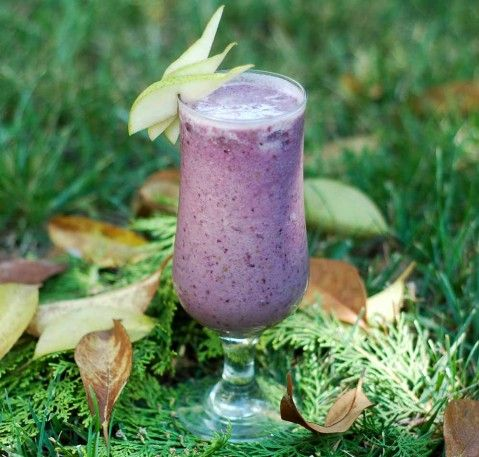 Organic Smoothie - mulberry and pear