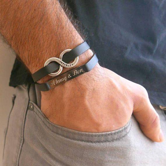 Infinity Bracelet Men S Personalized