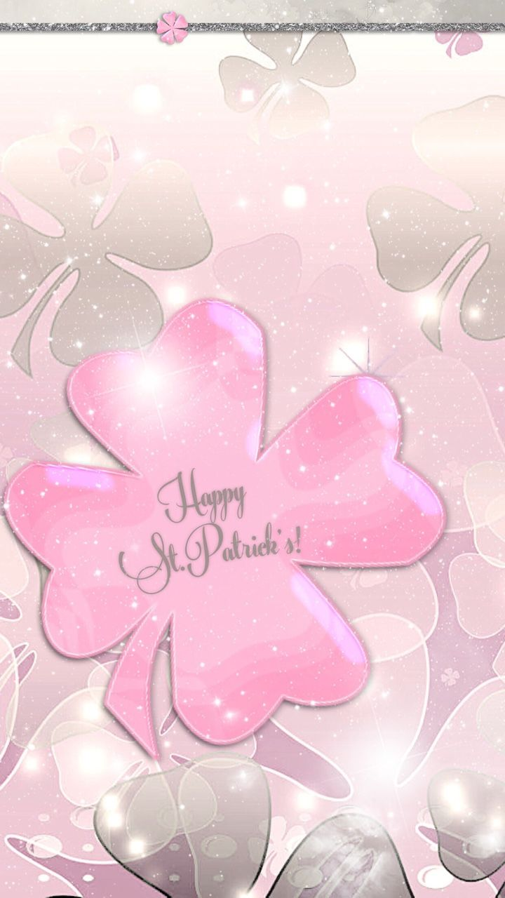 """tee1079: """"Happy Pink St. Patrick's! iPhone 6(s) Plus & 7 Plus Home Screen & Wallpapers/Backgrounds """""""