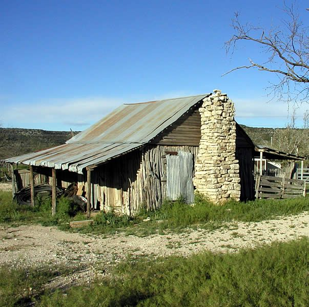 HOWARD'S WELL, a stage stop on the Overland Mail route, was the target of repeated attacks by Indians throughout the 1850s and 1860s. The jacal building shown may date as early as 1860. A previous station was destroyed by Comanches and there, on April 20, 1872, Comanche and Kiowa surprised a large wagon train and killed 16 persons. The well (springs enclosed by limestone walls) was an important water source for travelers crossing the parched terrain.