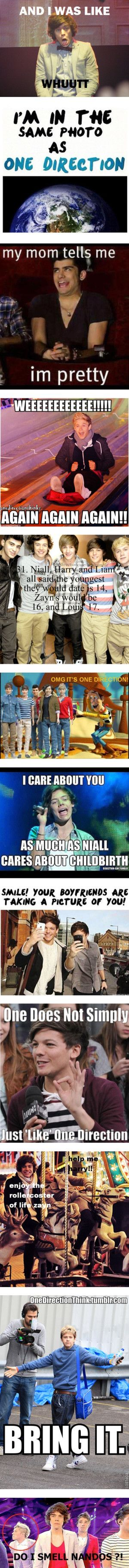 """I am so gonna say """" I care about you as much as Niall cares about childbirth!"""" To somebody who I don't like!!!<<<< Going places."""