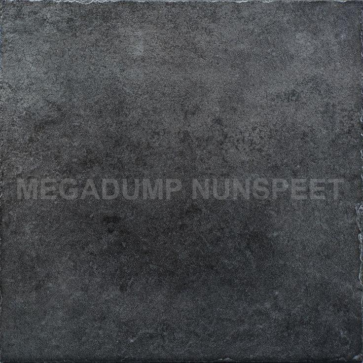 vloertegels antraciet 50 x 50 cm half gepolijst