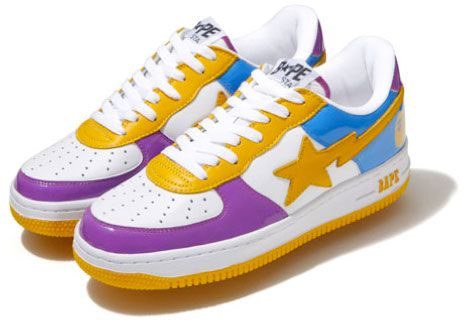 ff0f4643ca225 The Store Color Bapestas have arrived in New York and Los Angeles Bape  stores this weekend. The LA colorway will be released at both New York and  LA stores, ...