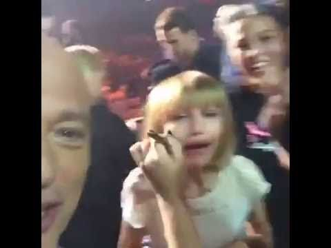 The winner was crying || Live on Facebook AGT 2016 || Grace is so cute
