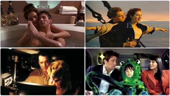 Najlepšie romantické filmy