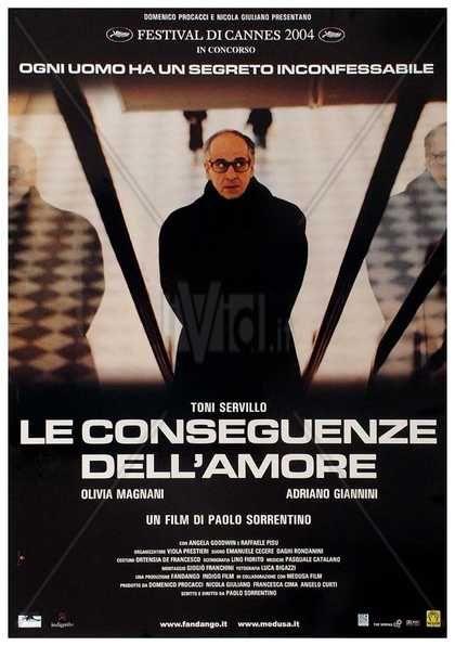"""Film """" La consecuencia del amor """" de Paolo Sorrentino o la contemplación melancólica"""