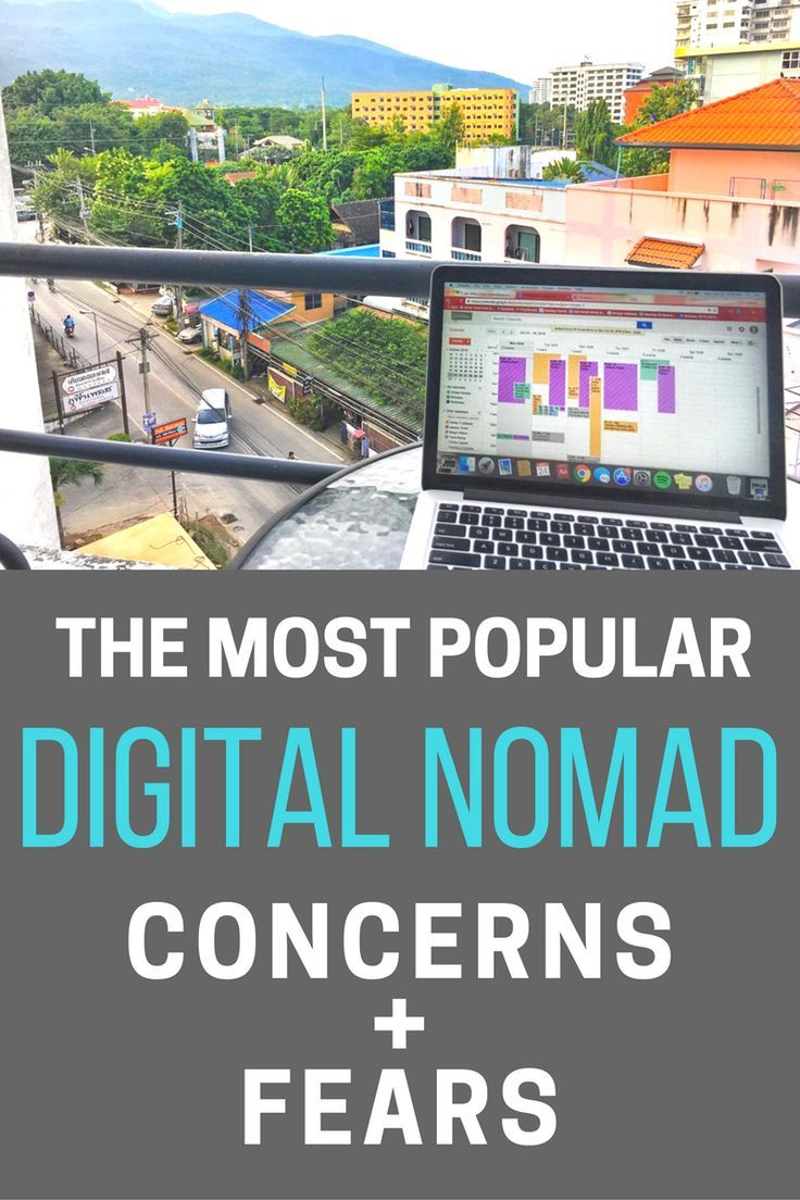 The Top Concerns For Anyone Thinking About Being A Digitalnomad