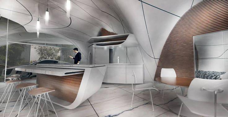 Первый дом «свободной» формы, напечатанный на 3D-принтере – Naked Science