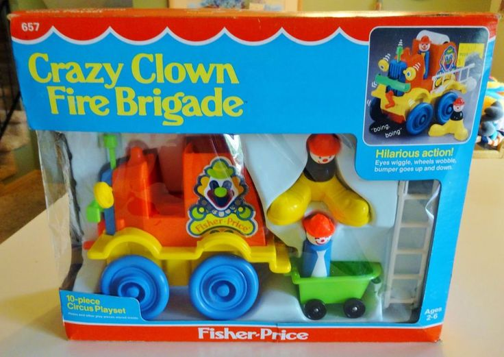 78 images about vintage fisher price on pinterest toys for Clown fish price