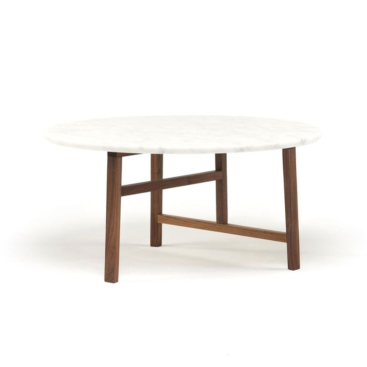 TRIO ROUND COFFEE TABLE - NERI & HU at Spence & Lyda #solidwood #design #neri&hu #australia #sydney #timber