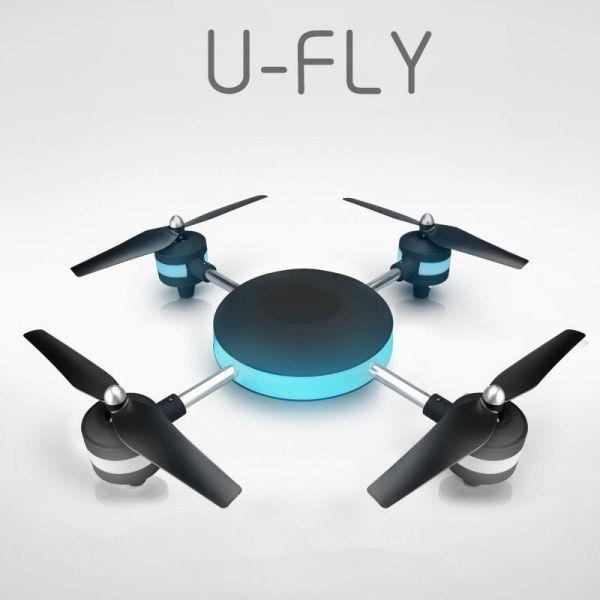 (クリスマスに)U-FLY ドローン カメラ付き 4K 大型 スマホFPV リアルタイム空撮 プレゼント_画像1