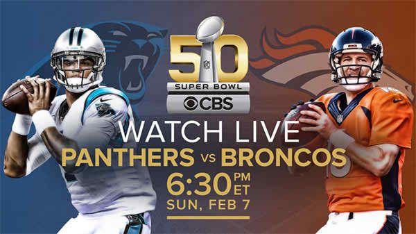 Denver Broncos vs. Carolina Panthers live Stream    Super Sunday is almost upon us, when the Denver Broncosand Carolina Pantherssquare off in Super Bo