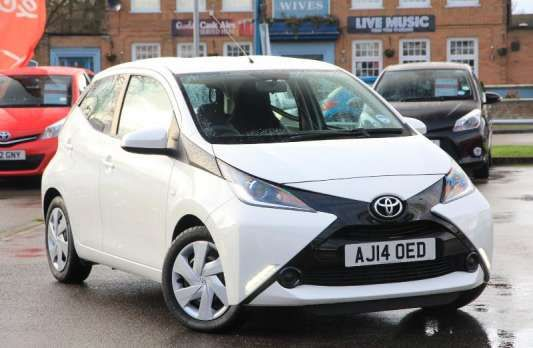 Used 2014 (14 reg) White Toyota Aygo 1.0 VVT-i X-Play 5dr for sale on RAC Cars Check This Awsome Car for Sale out! Car is lowered on 18s but comes with stock rims and a brand new tire. It has dark tinted windows .Also comes with a new aftermarket passenger fender. Car is parked on Pacific ave in Tacoma next to the gas station on the corner of 64th and Pacific. If after seeing it you are interested get ahold of me for a test drive. Cash takes it home today 1900 OBO. Clean title.
