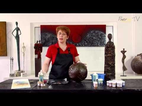 Easy Varnish - Schlusslack - Malmittel - YouTube