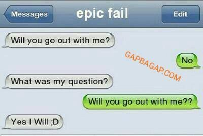 Hilarious Text Message About Date