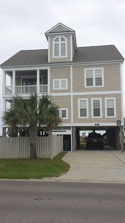 Beach House Rentals Myrtle Beach Oceanfront Part - 46: Garden City Beach Vacation Rental - VRBO 239085 - 7 BR Grand Strand - Myrtle  Beach
