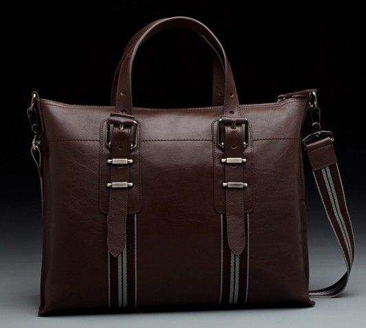 Best leather briefcase for men, briefcase bag - PLSBAG