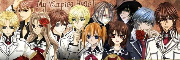 Anime Characters Vampire : Vampire knight characters