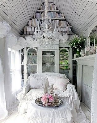 cottage beautiful: Decor, Spaces, Idea, Dreams, Shabby Chic, Victorian Cottages, Book, Reading Nooks, House