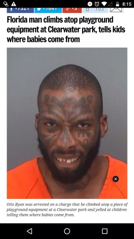32 TIMES 'FLORIDA MAN' MADE THE HEADLINES   Funny ...