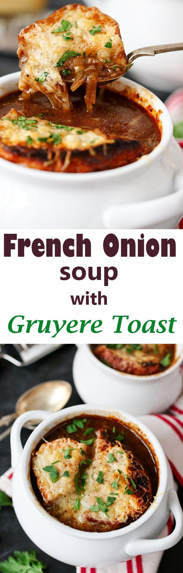 French Onion Soup with Gruyère Toast | Recipe | Toast, Onions and ...