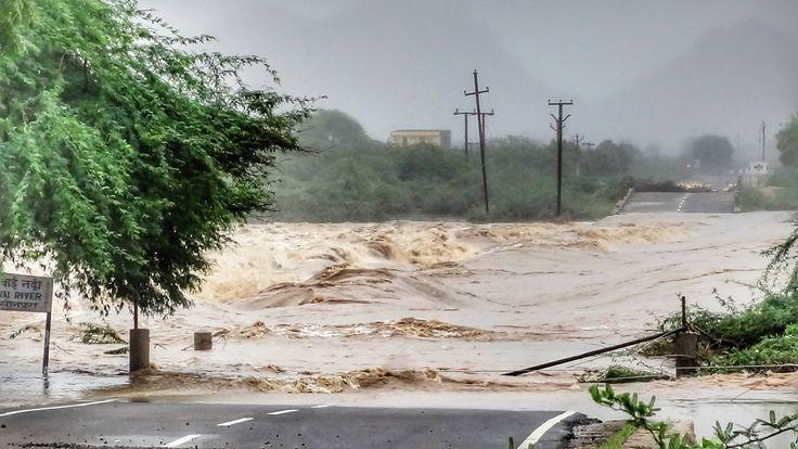 Broke River Bridge In Jalore Rajsthan 😎