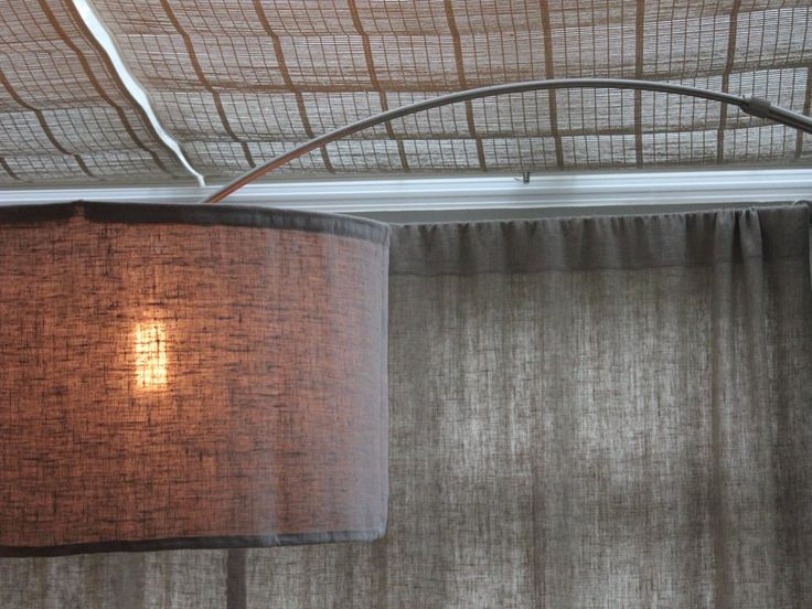 Arc Floor Lamp with Concrete Base