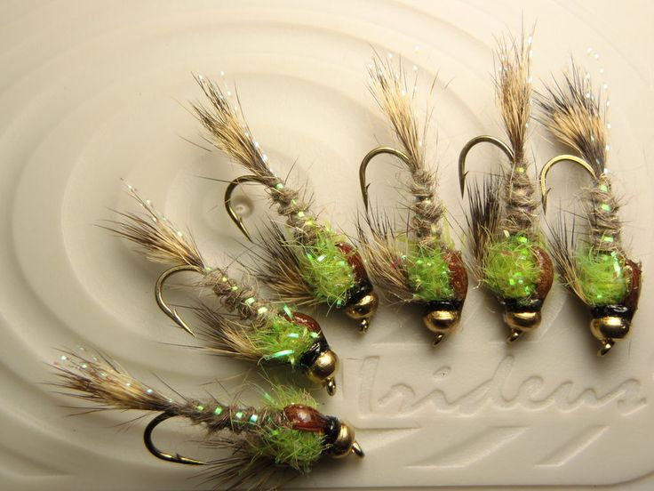 Irideus custom limelight flicker deep nymph trout fly for Fly fishing nymphs
