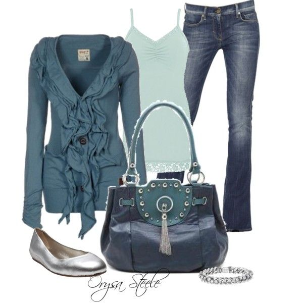 """Blue Jean Baby"" by orysa on Polyvore"