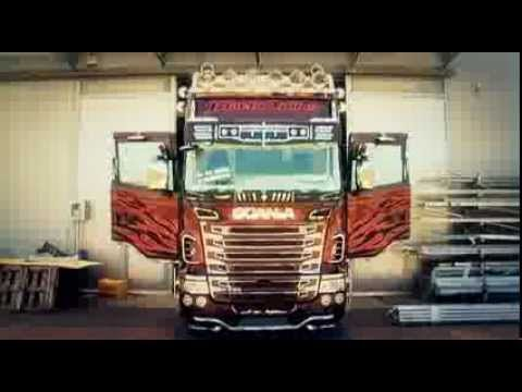 Camion tuning: Scania Black Amber for Marra by Acitoinox  #scania #acitoinox
