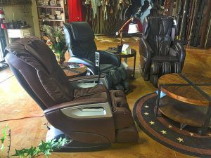 Find relief in a home massage chair