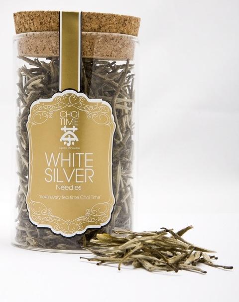 White Silver Needle - Choi Time tea jar