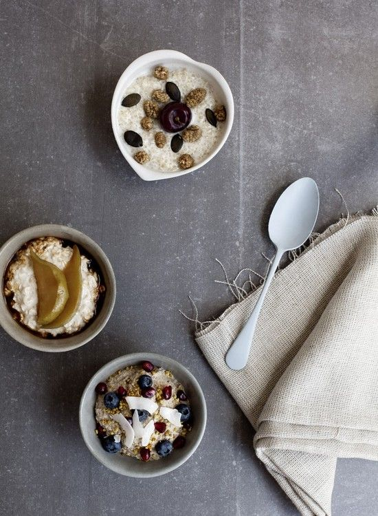 Overnight Porridge 3 Ways | Dish
