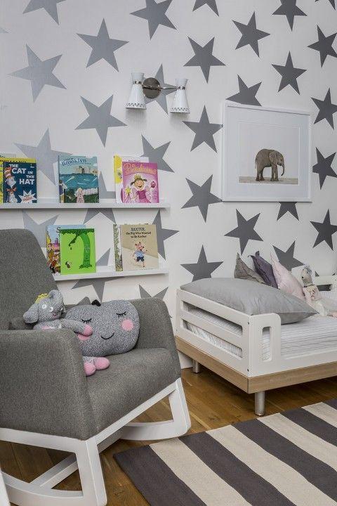 Star wall, reading nook, reading corner