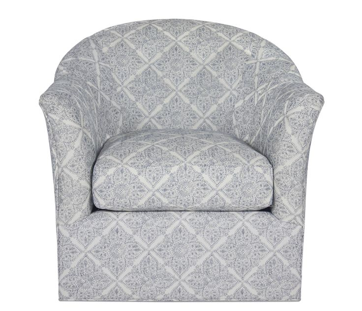 Vivian Swivel Chair - This item may be custom ordered in over 400 covers! Exclusive to Boston Interiors and stocked