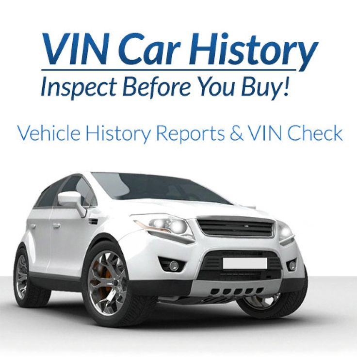 Complete Vehicle History Report in 2020 Vehicles