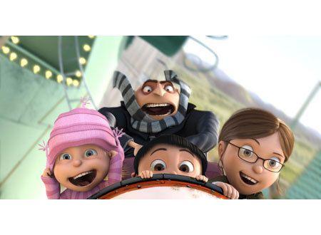 怪盗グルーの月泥棒 3D - Yahoo!映画