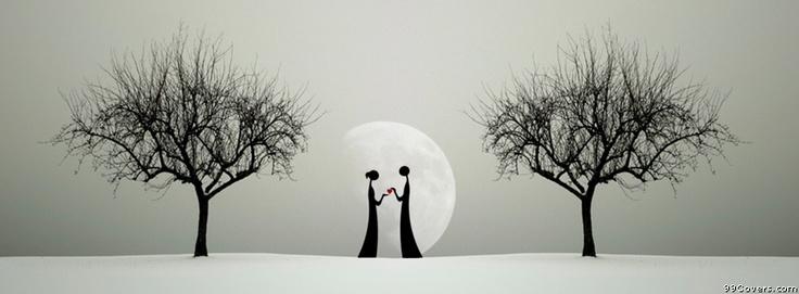 Dark Love Facebook Covers