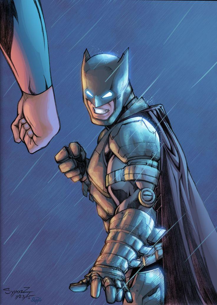 Batman vs Superman Pencils by Miguel Naranjo Colors by Jeremiah Skipper