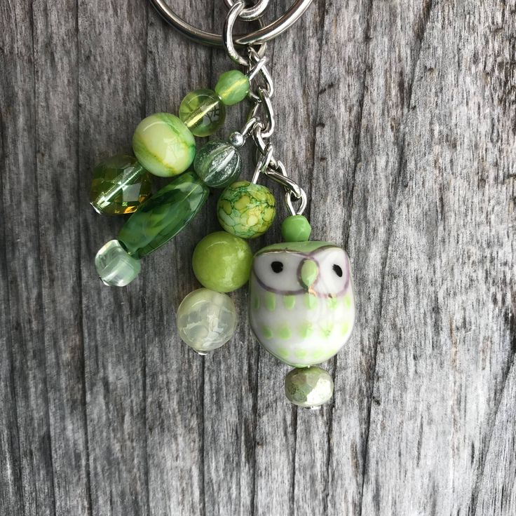 Keychains for Women, Owl Bag Charm, Owl Gifts, Beaded Keychain, Beaded Gifts not Jewelry, Purse Charms for Handbags, Owl Purse Charm, Women by SecretGardenByLaura on Etsy