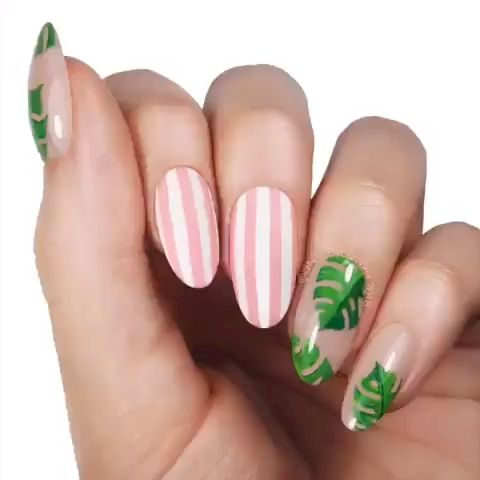 33 Tips to Beautify Hand with Summer Nail Design